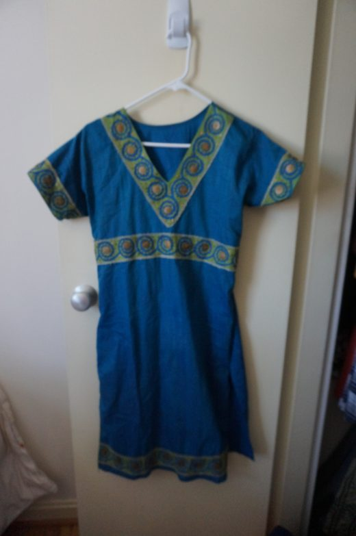top for blue and green salwar