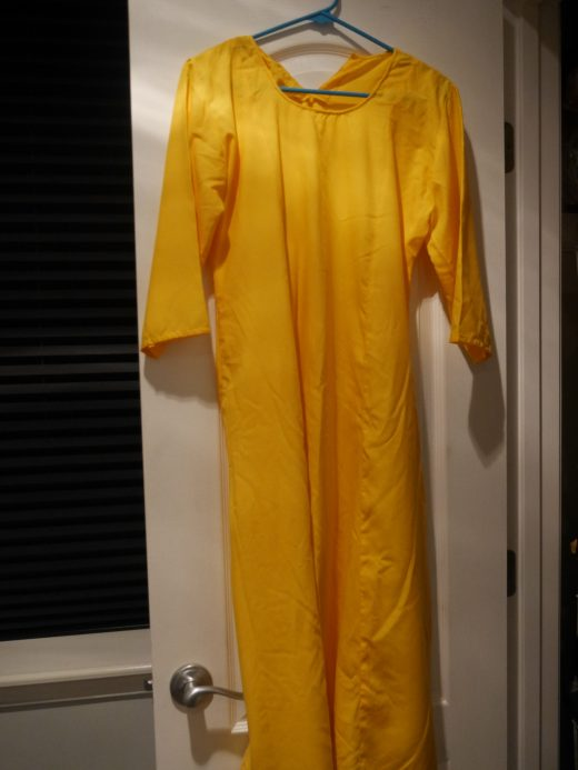 plain yellow salwar top