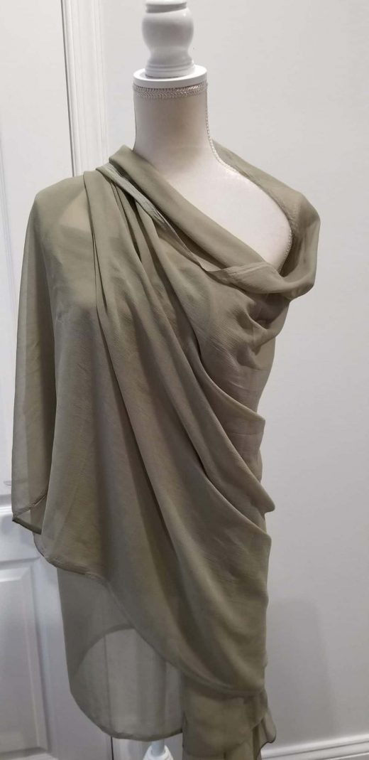 front 2 gray shawl